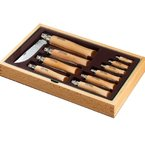 Opinel Collecting wooden case INOX